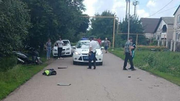 В Ростовской области подросток на мотоцикле сбил четырехлетнего ребенка