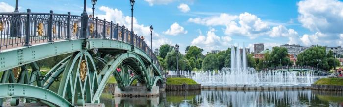 Светомузыкальный фонтан в музее-заповеднике «Царицыно» обновят