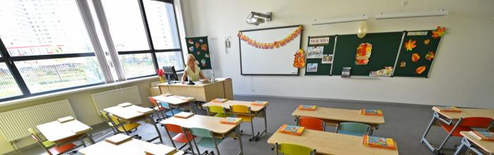 Школу на 550 мест в районе Савёловский введут в этом году