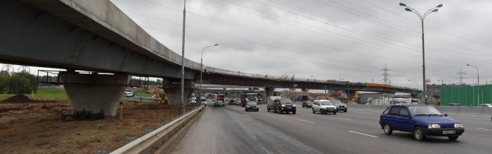 Рафик Загрутдинов: реконструкция развязки на пересечении МКАД с Осташковским шоссе завершится в III квартале 2022 года
