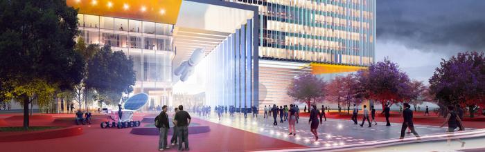 Проект Национального космического центра представит «Мосинжпроект» на МУФ