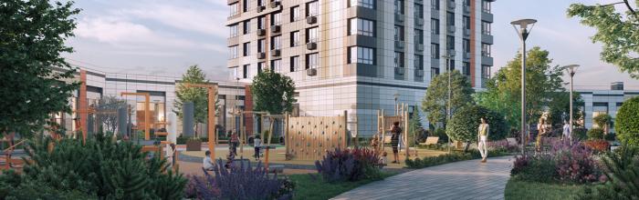 В составе ЖК LIFE-Варшавская возведут 24-этажный дом