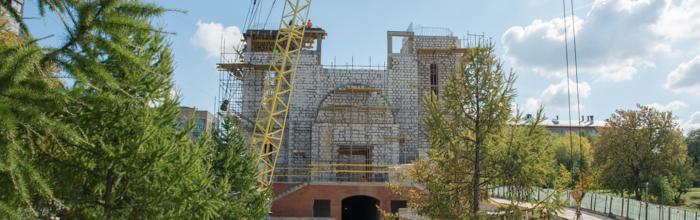 Кирилло-Мефодиевский храм в Ростокине может быть сдан в эксплуатацию в декабре