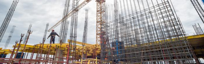 На стройплощадке проблемного ЖК «Терлецкий парк» установлен еще один башенный кран