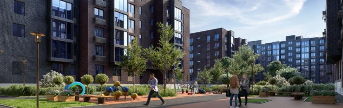 В проблемном жилом комплексе «Медовая долина» введены в эксплуатацию два корпуса
