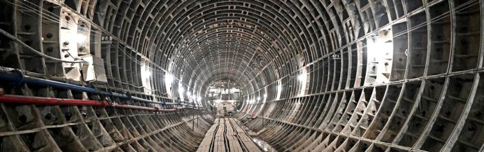 Андрей Бочкарёв: восточный участок БКЛ метро готов почти наполовину
