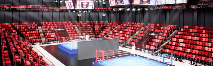 Завершается возведение монолитных конструкций Центров самбо и бокса в Лужниках