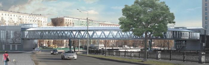 Пешеходный мост через Яузу построят до конца года – Бочкарёв