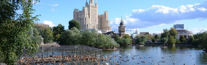 Два фонтана установят перед входом в Московский зоопарк