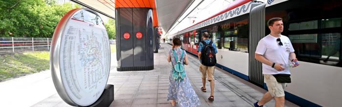 Андрей Бочкарёв: Пассажиропоток станции «Ржевская» МЦД-2 после реконструкции составит около 150 тыс. человек в день