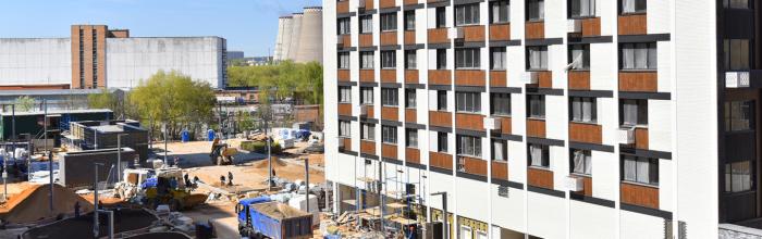 Новый дом на Базовской улице позволит переселить по реновации почти 500 семей
