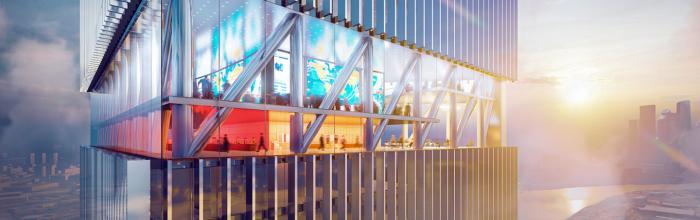 Монолитные конструкции башни НКЦ будут возводить соскоростью 3-4 этажа вмесяц