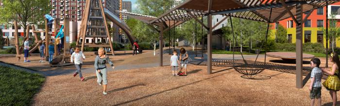 В Поселении Сосенское началось строительство детского сада на 220 мест