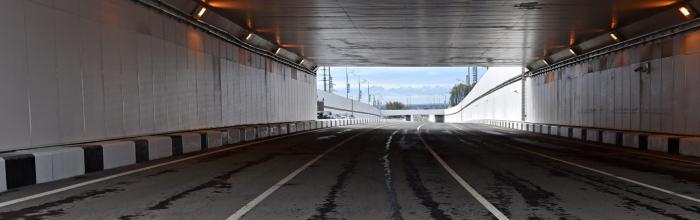 Начались отделочные работы втоннеле подКиевским шоссе