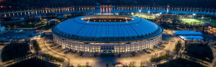 Росреестр зарегистрировал новое здание с раздевалками в Лужниках