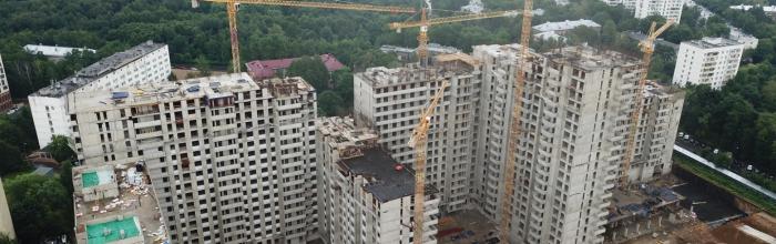 Возобновлено строительство блока М в проблемном ЖК «Терлецкий парк»