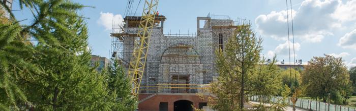 Завершается строительство Кирилло-Мефодиевского храма на северо-востоке Москвы