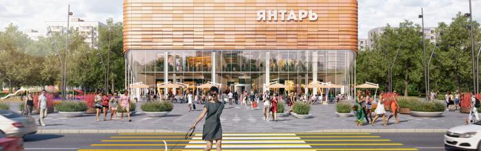 В районе Преображенское завершена реконструкция кинотеатра «Янтарь»