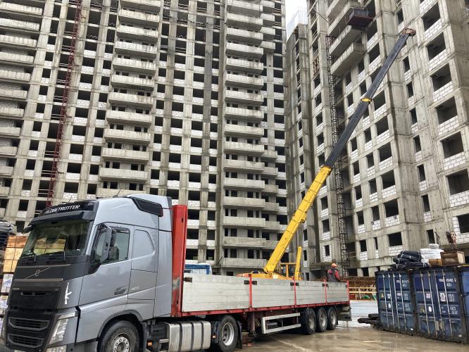 Продолжается бетонирование жилых этажей ЖК «Терлецкий парк»